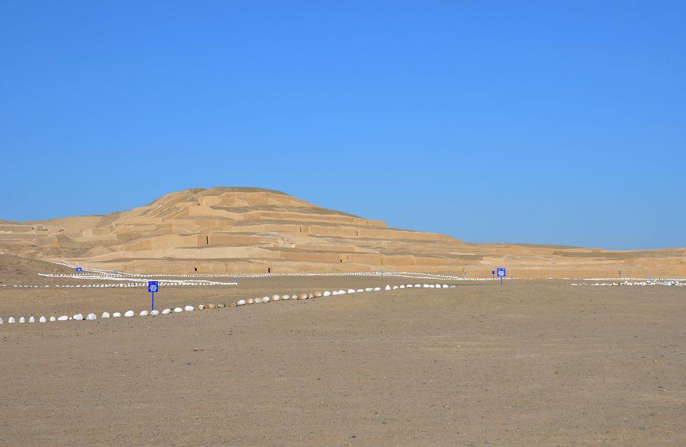 Die Pyramiden von Cahuachi in der Nazca- Region