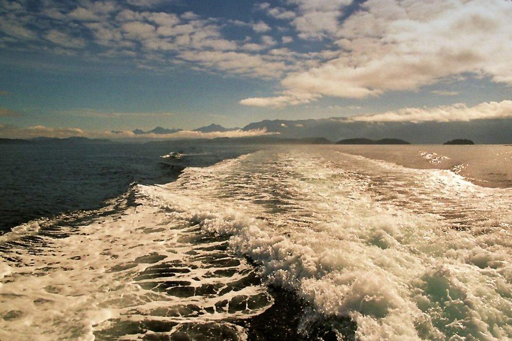 Die Queen Charlotte Strait