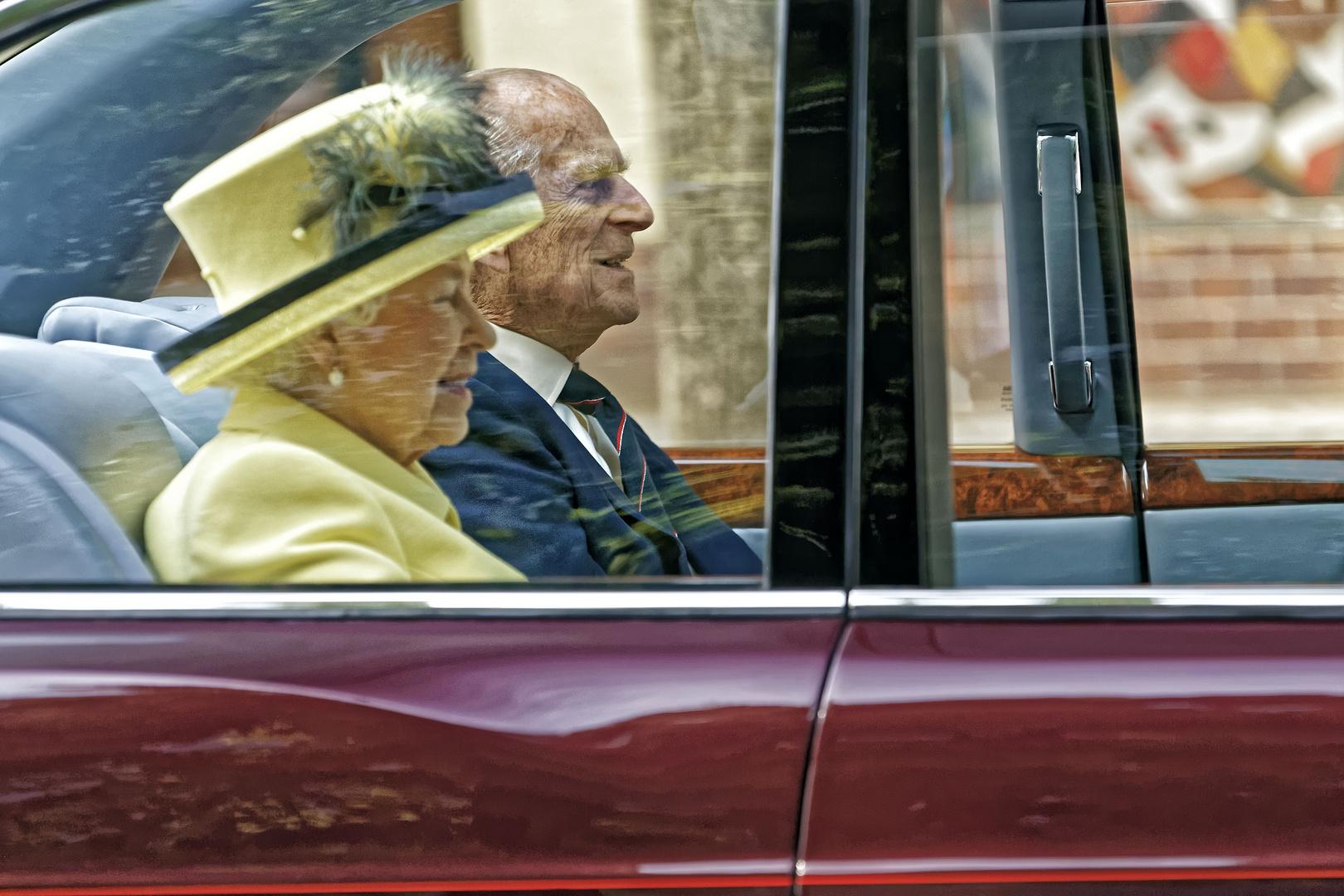 ... die Queen in Berlin VIII ...