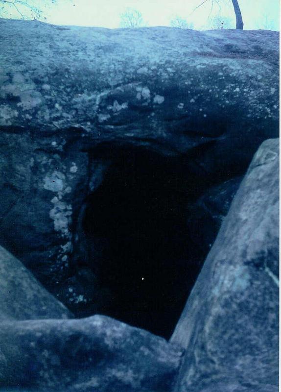 Die Räuberhöhle (Wald zu Fontainebleau)