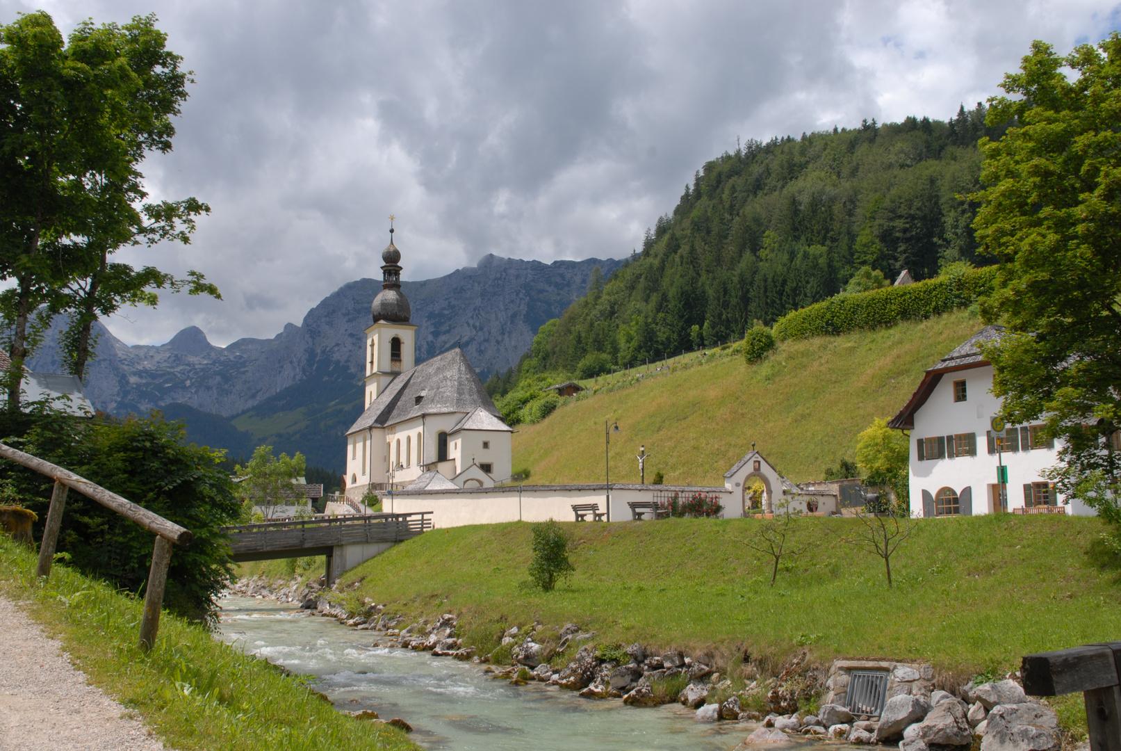 Die Ramsau bei Berchtesgaden.