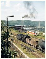 Die Rauchzeichen des Bw Saalfeld