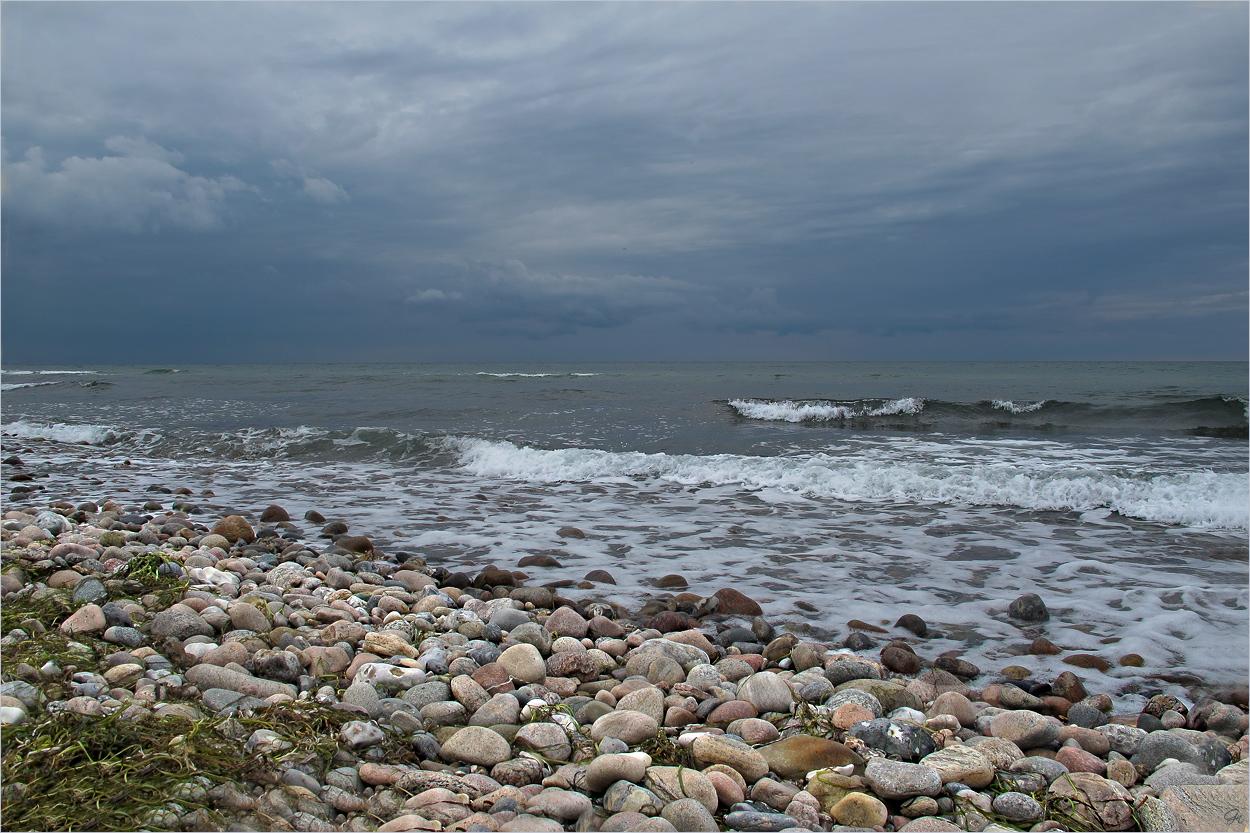 Die rauhe Küste des Kattegat