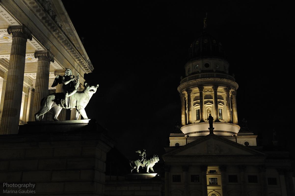 die Reiter in der Nacht