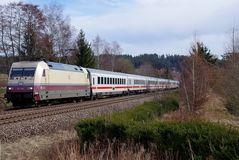 Die Rheingold auf dem Weg ins Rheintal