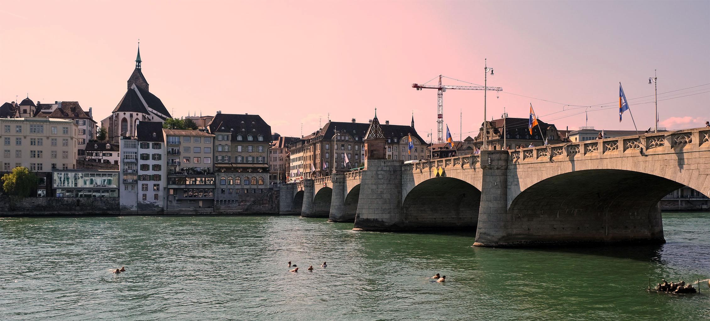 Die Rheinschwimmer