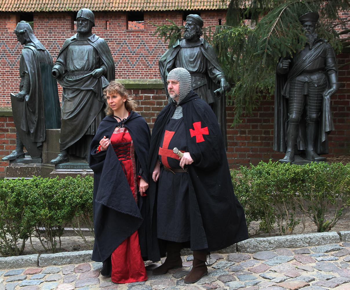 die Ritter der Burg