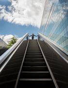 Die rollende Treppe