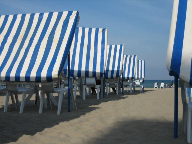 Die Romantik am Strand