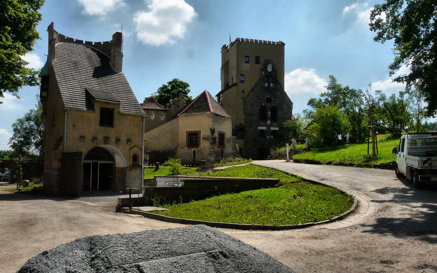 Die Roseburg bei Rieder, OT von Ballenstedt