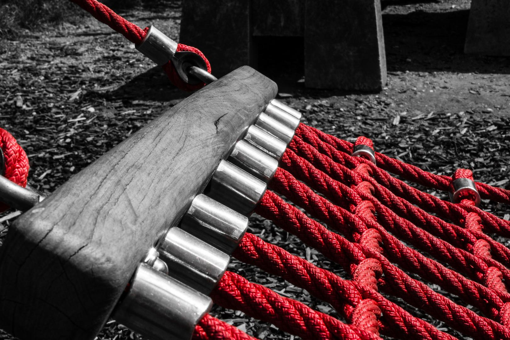 Die rote Schaukel