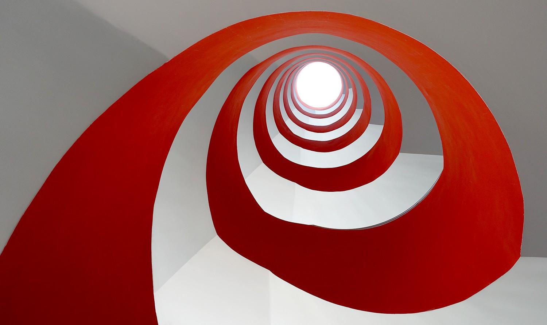 Die rote Spirale Foto & Bild | spezial, rot, köln Bilder