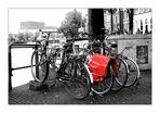 Die rote Tasche von Amsterdam