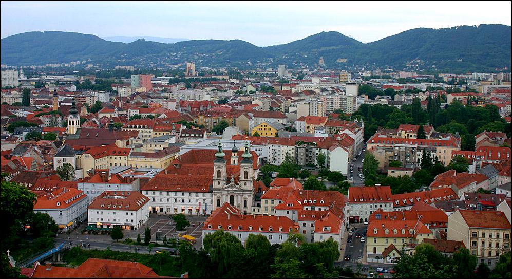 Die roten Dächer von Graz II (reload)