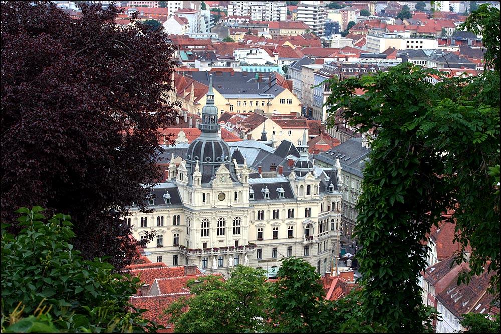 Die roten Dächer von Graz III