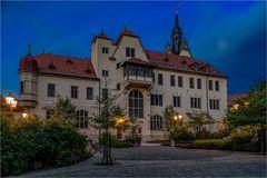 Die Rückseite vom Rathaus Bernburg