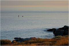 die Ruhe am Meer