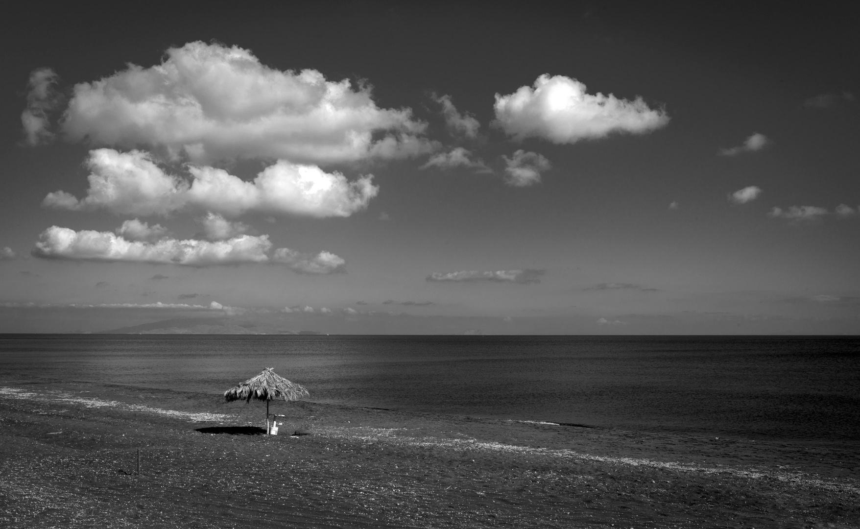 Die Ruhe am Strand