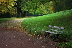 Die Ruhe im Herbst ist ein Gedicht