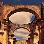 Die Ruinen der Kathedrale von Antigua