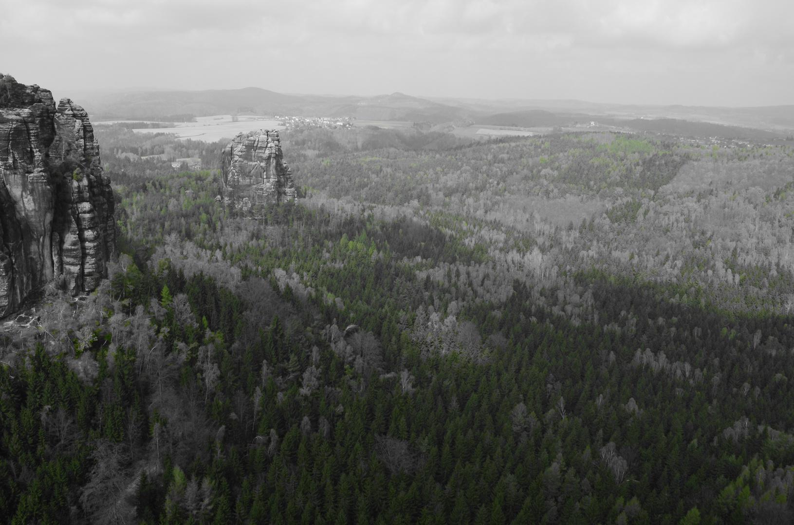 Die Sächsische Schweiz erwacht