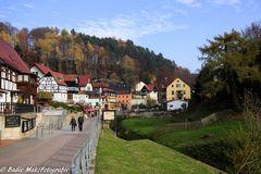 Die sächsische Schweiz im Herbst