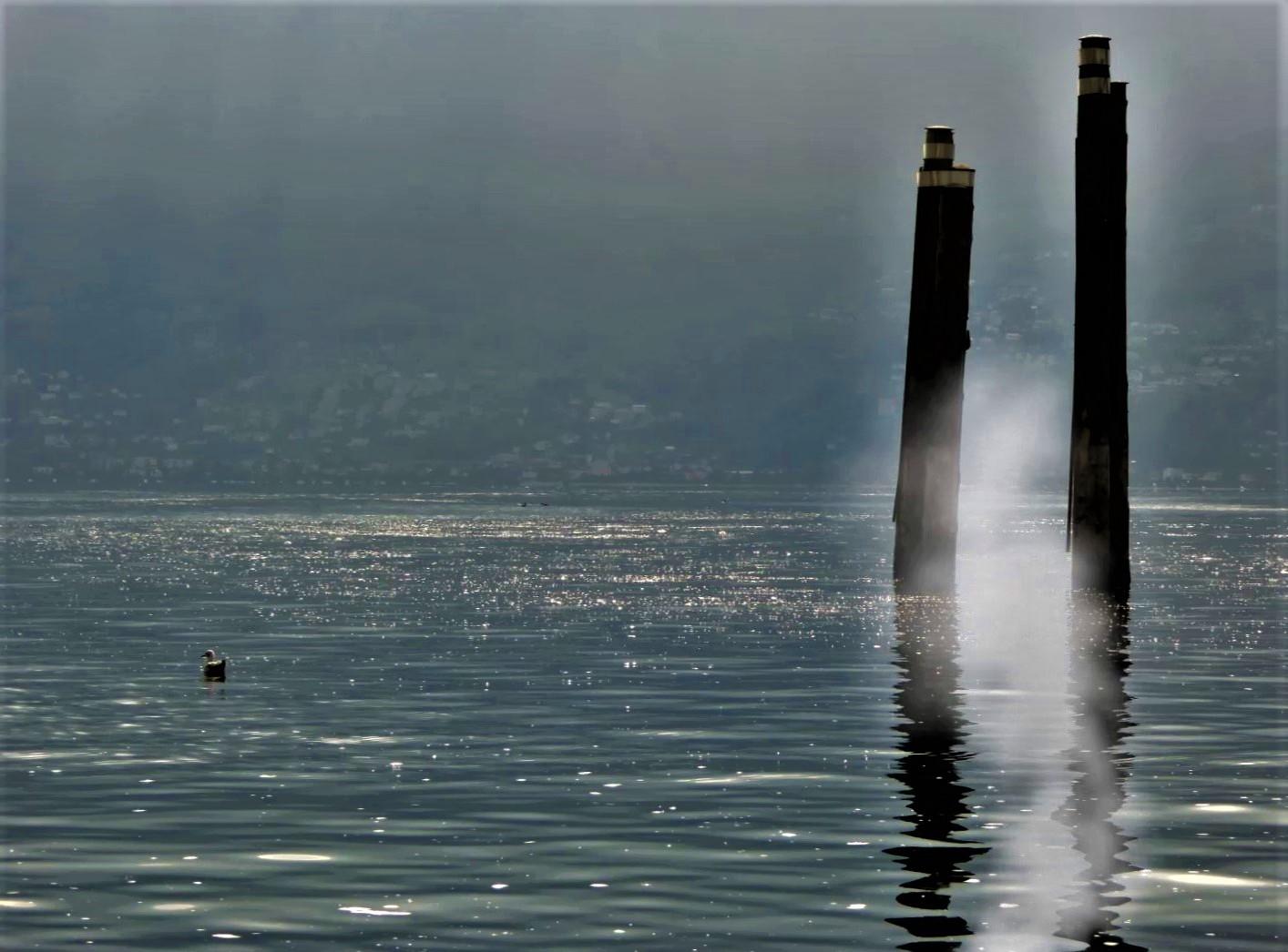 Die Säulen am Lago Maggiore
