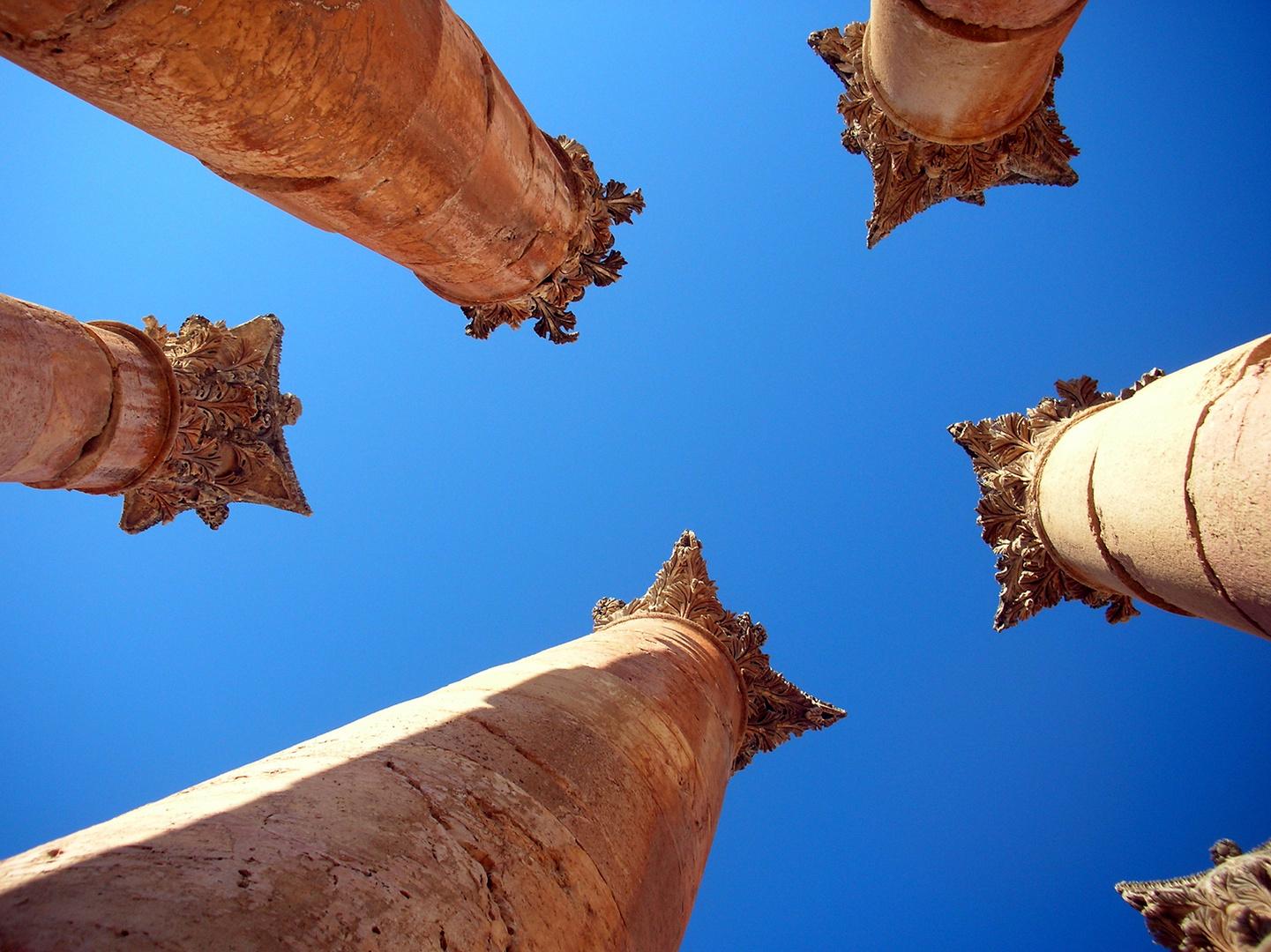 Die Säulen der Artemis