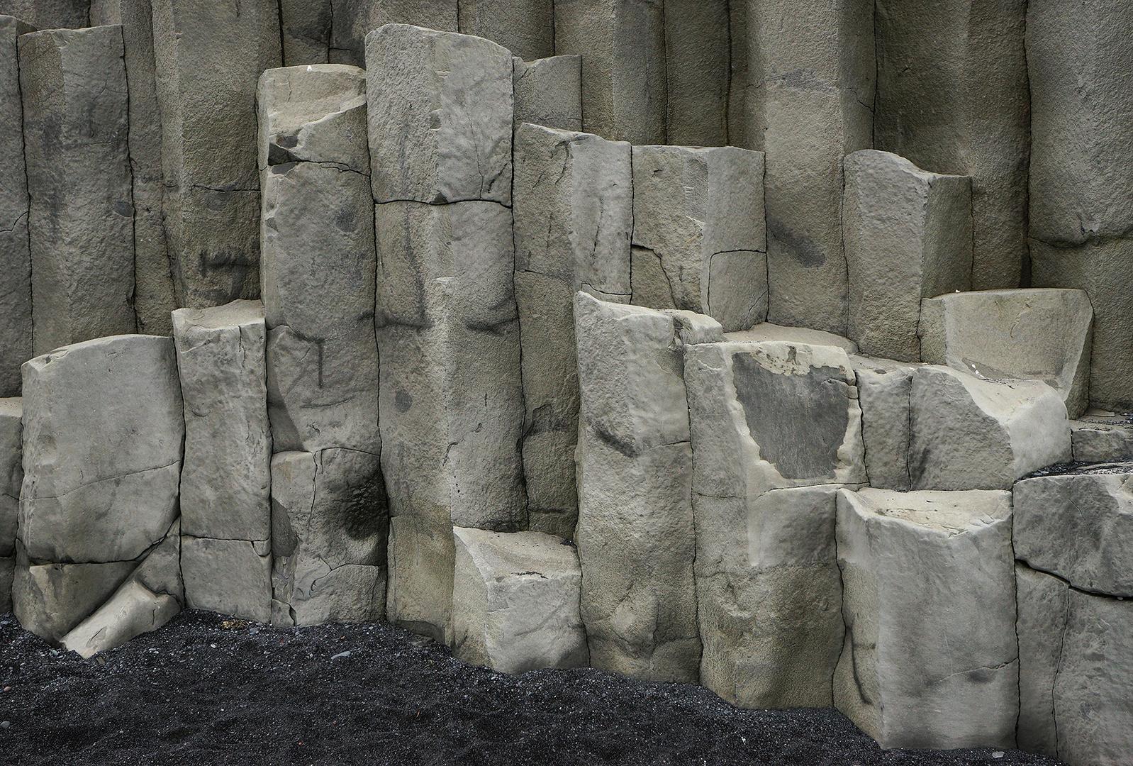 Die Säulentrolle von Reynisfiara