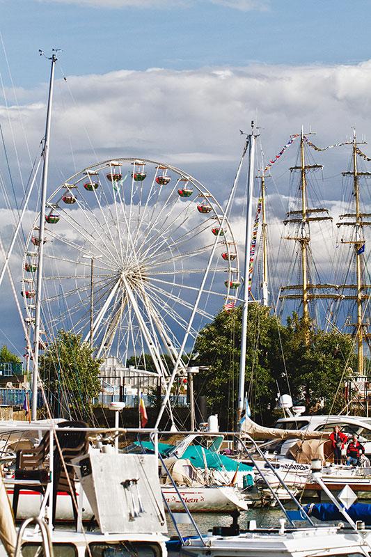 Die Sail 2012 beginnt