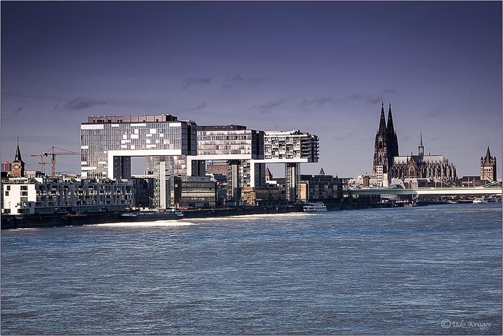 Die Sandbänke von Köln