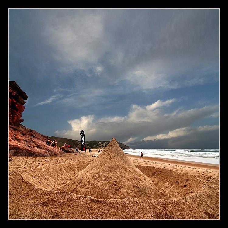 Die Sandburg...
