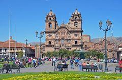 Die Santo-Domingo Kathedrale in Cusco