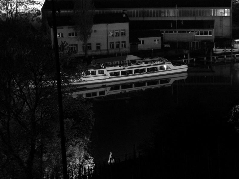 """Die """"Schaffhausen"""" bei Nacht"""