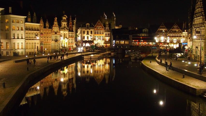 die Schelte in Gent