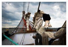 die Schiffsglocke der Sedov