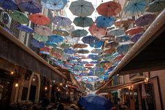 Die Schirm-Gasse ...