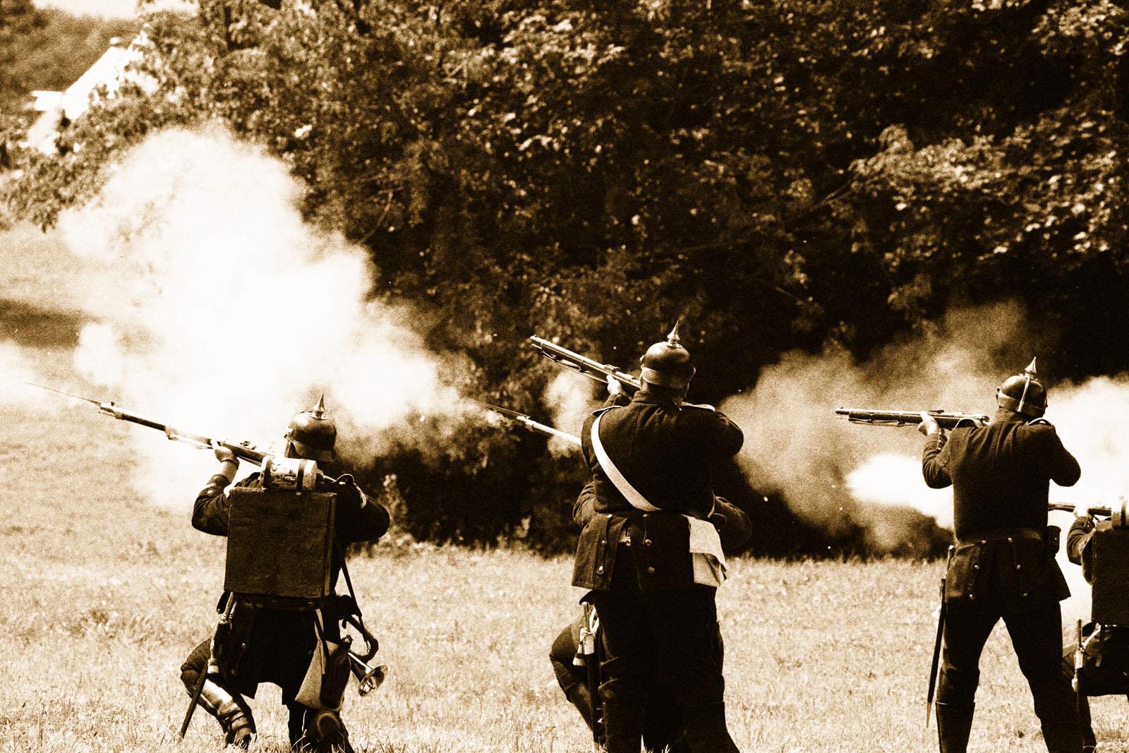 Die Schlacht bei Spicheren am 6. August 1870 Bild 2