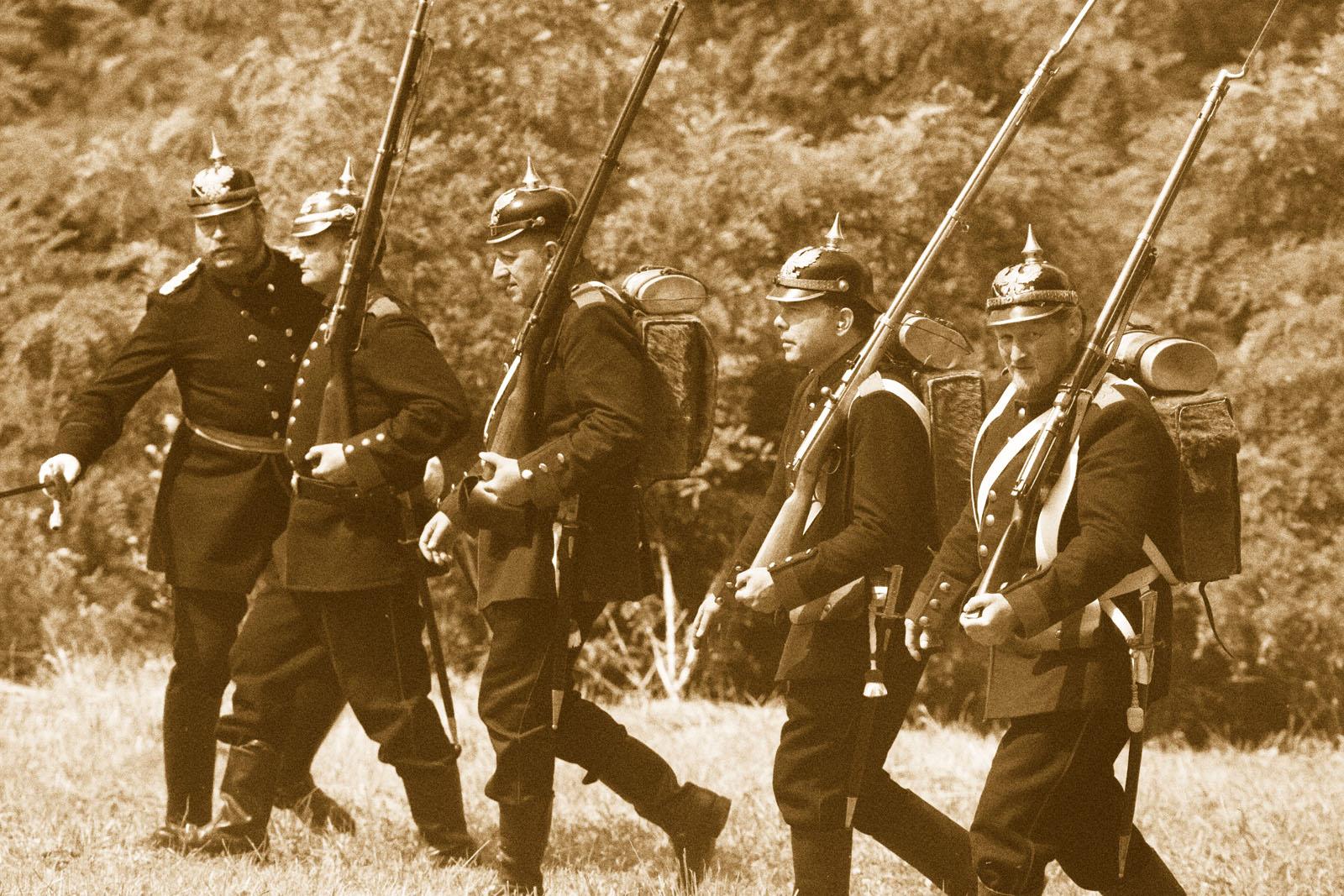 Die Schlacht bei Spicheren am 6. August 1870