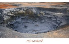 Die Schlammtöpfe am Námaskarð