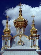 Die Schlosskirche im Peterhof in St. Petersburg