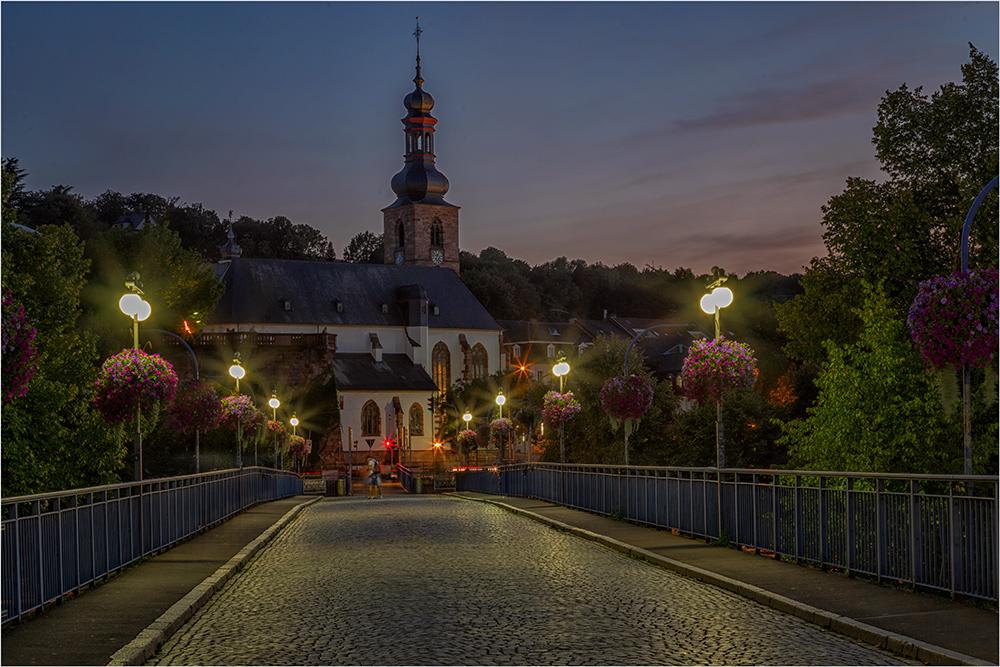 Die Schloßkirche von Saarbrücken
