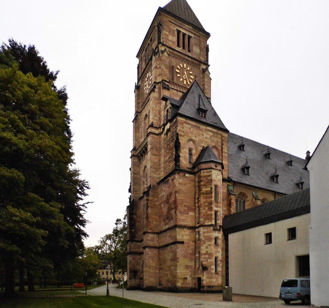Die Schloßkirche zu Chemnitz