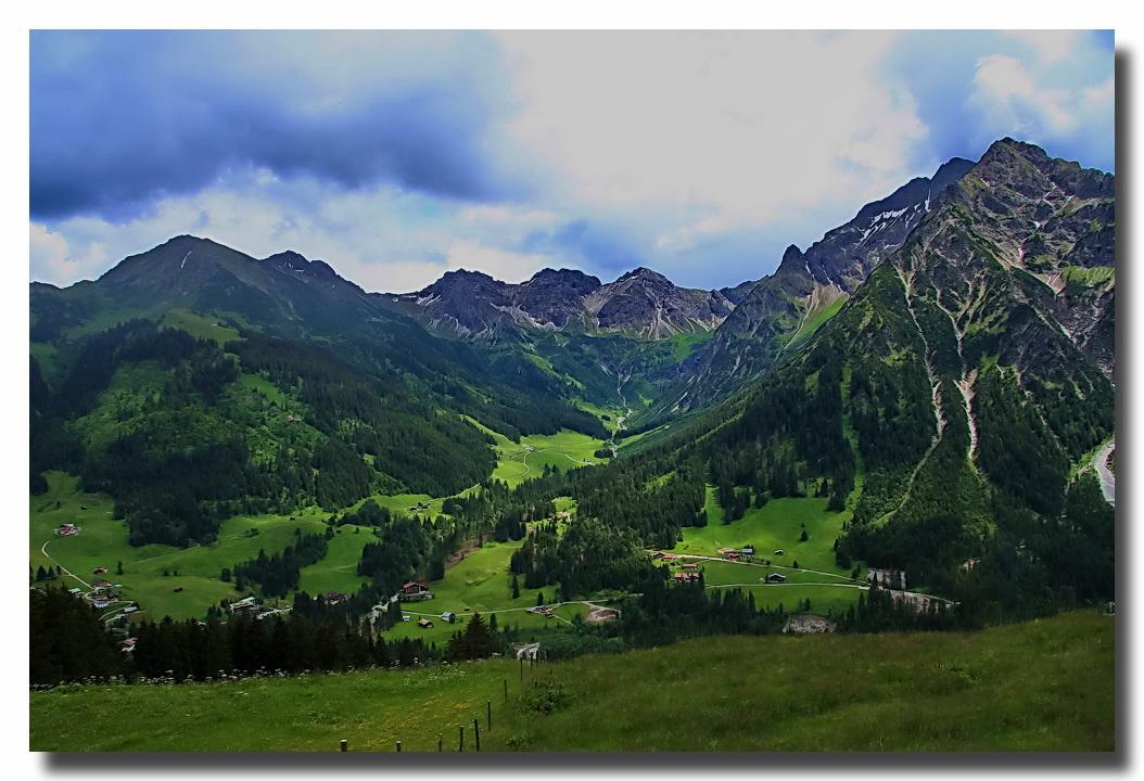 Die schöne Bergwelt