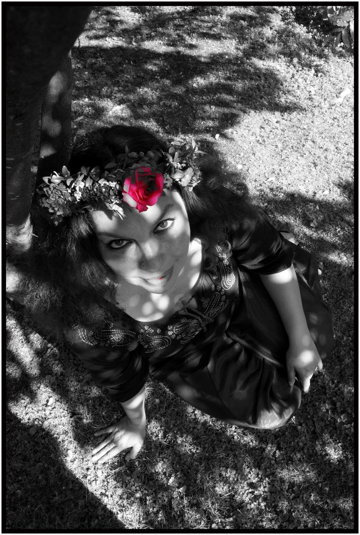 Die Schöne und die Blume
