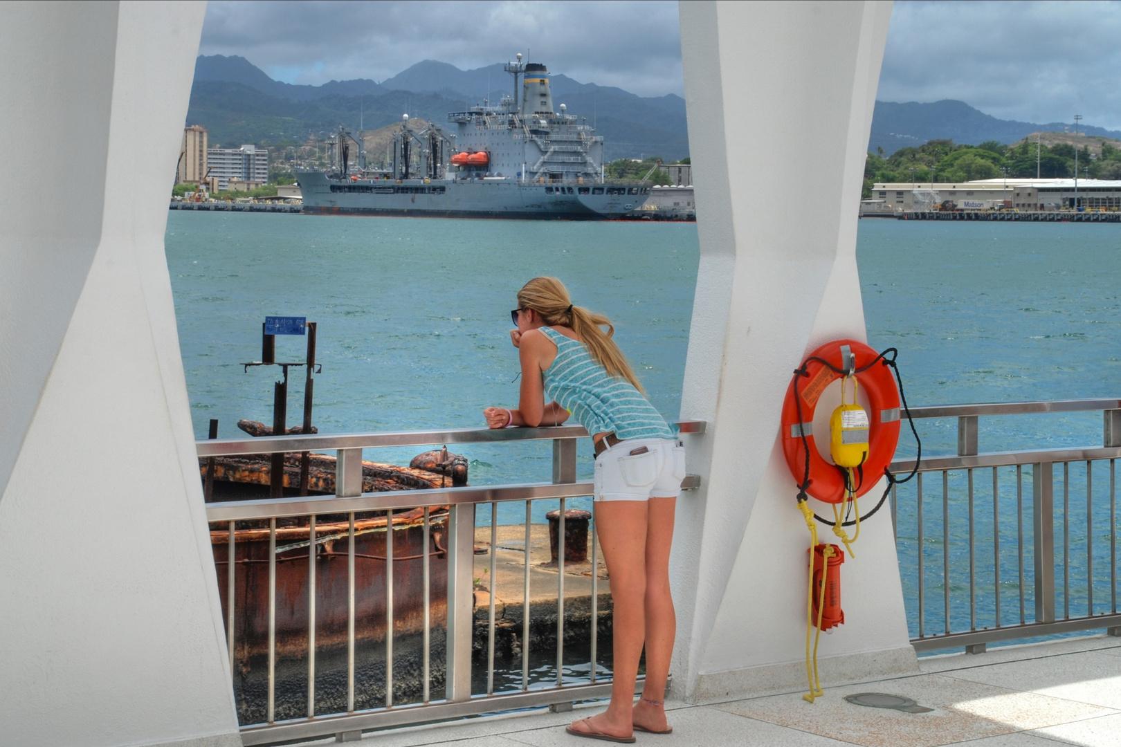 Die schönen Seiten von Pearl Harbor