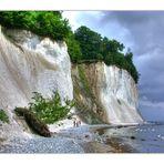 ...die Schönheit der Kreideküste, aber auch gefährlich