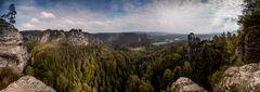 Die Schönheit des Elbsandsteingebirges