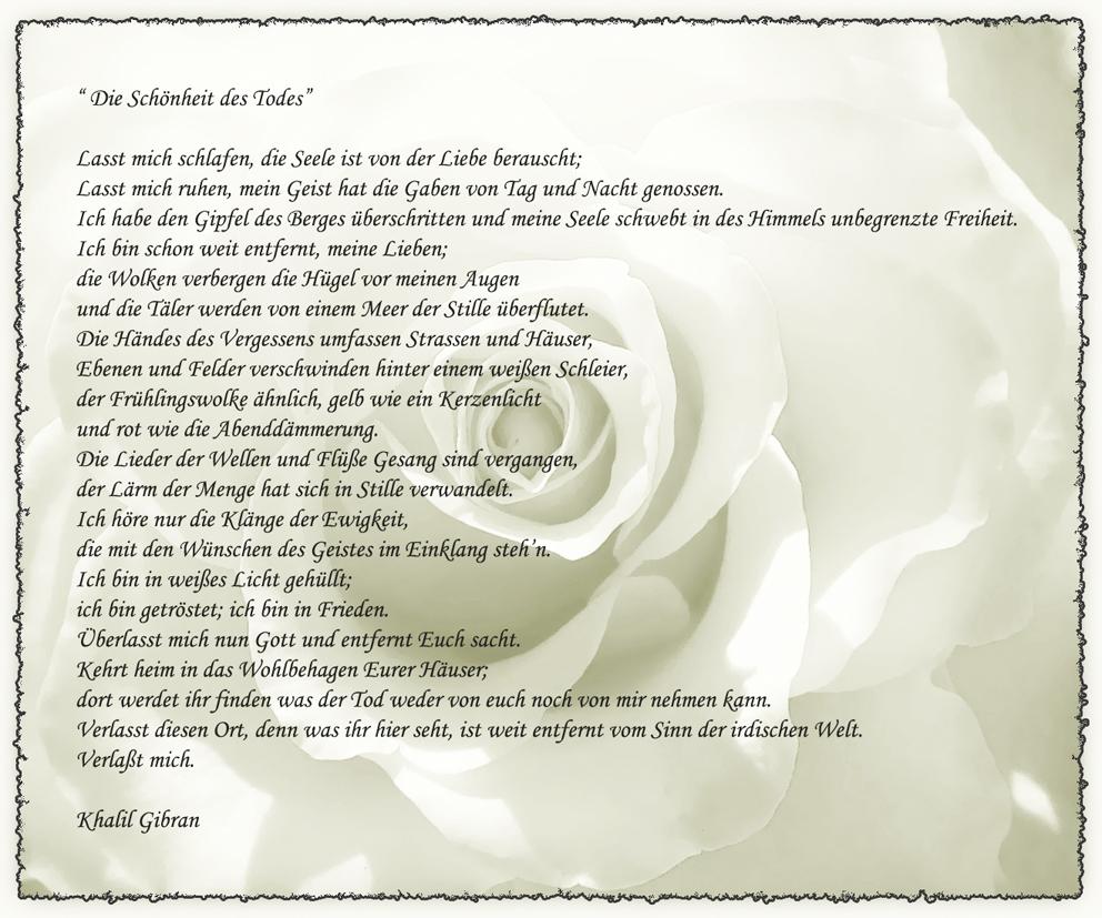 Khalil Gibran Gedichte Trauer Die Schönsten Gedichte Zum