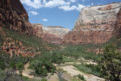 Die Schönheit des Zion Canyon...